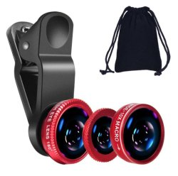 Klem 3 in-1 Brede Lens van het Oog van de Vissen van de Uitrustingen van de Camera van de Lens van de Hoek Macro Mobiele voor iPhone Xr Xs/Maximum