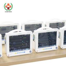 """Sy-C005c Stock Hospital portátil más barato del Monitor de Paciente precio de fábrica de 12,1"""""""