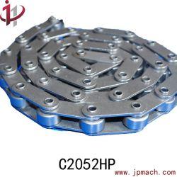 Ketting C2052HP van de Rol van de Keten van de Hoogte van de Transportband van de Kettingen van de Speld van het staal de Holle Korte