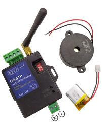 Ga01p GSM de systèmes d'alarme de batterie rechargeable pour alerte de panne d'alimentation