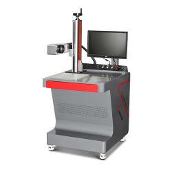 machine de marquage au laser à fibre pour métal/plastique/tag/chaînes clé/tag Machine d'impression de métal de plumes