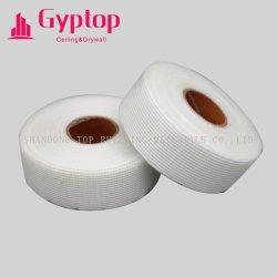 ギプス作業または自己接着構築の乾式壁の接合箇所のガラス繊維の網のガラス繊維テープのためのファイバーガラスの網テープ