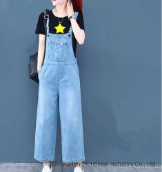 여성 Jean Wholesale 패션 스톡 Denim 패션 의류 여성 의류 의복 점프슈트 청바지