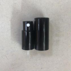 13 415 em alumínio de parafuso da bomba do pulverizador de perfume, de alumínio preto brilhante de Spray de névoa fina