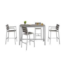 Outdoor Table et Chaise bistro bar Loisirs Meubles de jardin