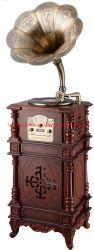 Fonction de mode lecteur de musique antique Bugle phonographe à l'avertisseur sonore