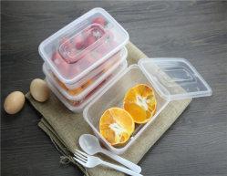 De meeneem Beschikbare Container van de Opslag van het Voedsel om Prep Containers van de Maaltijd van de Doos van de Lunch van Bento van de Plastic Doos 1 Microgolf van het Compartiment