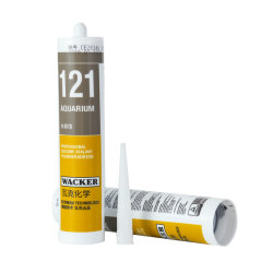 Wacker 121 het Enige Dichtingsproduct van het Silicone van het Aquarium van de Groep