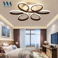 Moderne eindeutige Blumen-Form-Eisen-Deckenleuchte für Wohnzimmer-Schlafzimmer Luminaria LED Lampe