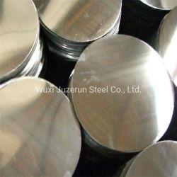 2b de Cirkel van het Roestvrij staal van de Spiegel van ba, Ss 304 430 201 Platen van het Roestvrij staal met Opgepoetst