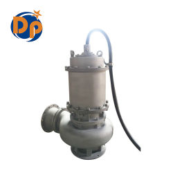 مضخة نقل الصرف الصحي القياسية الكهربائية مضخة جلاخة قابلة للطرح للنفايات الماء