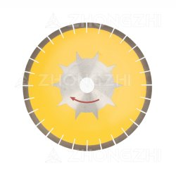 Haute qualité de l'argent brasé Diamond lame de scie circulaire de coupe