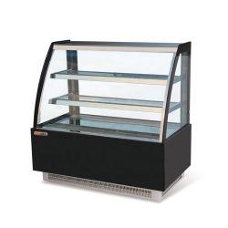 attrezzatura di refrigerazione di vetro refrigerata torta della vetrina del portello di 1200mm
