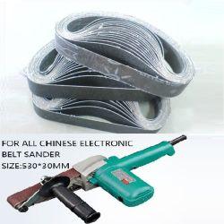 紙やすりで磨くベルト、ガラス粉砕ベルト、研摩ベルトTy486 520X20