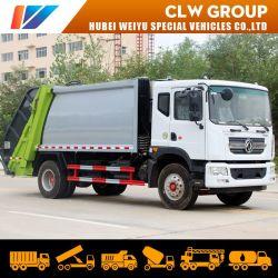 중국 동펑 12cbm/12000lL의 압축형 폐기물 쓰레기 쓰레기 쓰레기 쓰레기 매립용 트럭