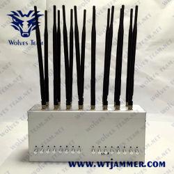 16 Omni-Antennas de alta potência totalmente integrado do sistema de interferência de banda larga WiFi VHF UHF Brinquedos de controle de rádio GPS 3G o sinal do telefone móvel 4G Jammer