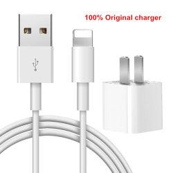 Singolo adattatore Port all'ingrosso di potere del caricatore di corsa del USB di originale del caricatore 100% della parete del USB del Mobile con cavo di carico