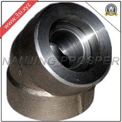 Los racores de tubo galvanizado hierro maleable/forjado codo rosca hembra