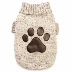 Vestiti del cane del cotone lavorati a maglia fumetto su ordinazione di inverno di disegno della stampa del fornitore per l'animale domestico
