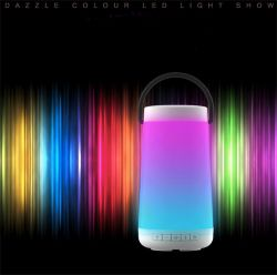 2000mAh Stereo-LED heller Resonanzkörper der mini drahtlosen beweglichen intelligenten Bluetooth Lautsprecher Jbl Pulse3 Musik-mit Energien-Bank