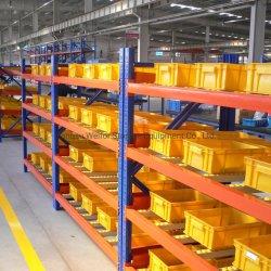 El flujo de caja de almacenamiento de acero estantes para almacén de sistema de recogida