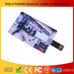 precio de fábrica OEM de Tarjeta de Crédito Tarjeta de presentación de la unidad Flash USB.