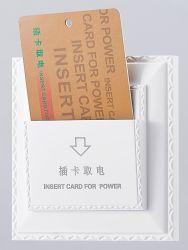 지능적인 호텔 방 에너지 절약 전기 Insert 키 카드 힘 보호기 스위치