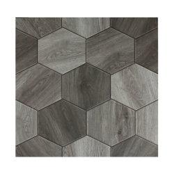 Der Kunst-graue sechseckige Ziegelstein für 600*600 Matt beendete Fliesenfoshan-Fabrik-System