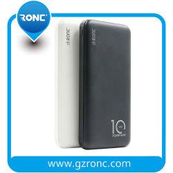 La fábrica barata 2.1A Real capacidad 10000mAh cargador portátil USB de alimentación de los bancos Banco de energía móvil