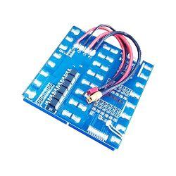 16 ثانية 15 أمبير PCM BMS لـ 57,6 فولت 59,2 فولت Li-ion/Lithium/ Li-Polymer 48 فولت 51.2 فولت LFePO4 حجم حزمة البطارية L148*W136.2*T10 مم (PCM-L16S15-977)
