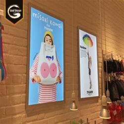 Professionnels de l'affichage de publicité pour les films Poster Photo Frame Boîte à lumière LED signer