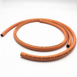 La vente en gros d'usine de caoutchouc du tuyau flexible de gaz pour gaz de la famille