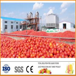 Tomato Ketchup le mélange de ligne de production de Ketchup rendant la production faisant Machine de traitement de ligne de machine de remplissage de la Sauce coller ligne Sauceproduction
