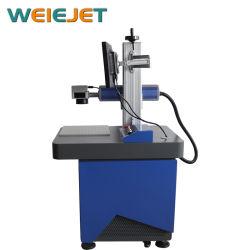 ホイルの袋またはパッケージのための工場価格のファイバーレーザーのマーキングか印刷または彫版機械
