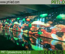 P РП3.91 полноцветный светодиодный экран прозрачный видео шторки для использования внутри помещений магазина/окно отображения