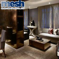 Materiali tessuti del metallo per architettura interna