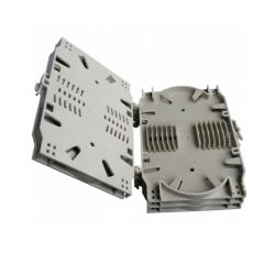 FTTH ABS 12 Kern-Faser-verbindene Kassetten-verbindene Tellersegment OptikiSO/Rhos-Faser-Optikzubehör