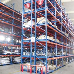Plegado de metal galvanizado de almacén de apilamiento de paletización de almacenamiento de acero