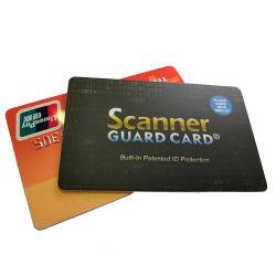 طباعة الليزر بطاقة حجب RFID مقاومة للموضع