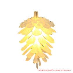 LED de luz Pinecone Bateria de cadeia de pequenas luzes coloridas ano novas luzes de Natal Ins