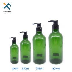 Novo Design Factory 800ml Shampoo Cosméticos garrafa PET de plástico