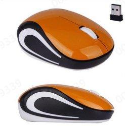 Souris sans fil 2.4GHz Cute Mini 1600 dpi pilote de souris optique USB pour ordinateur portable PC