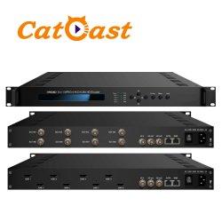 8 em 1 MPEG-4 H. 264 Codificador de alta definição com 8 entradas HDMI à saída de IP
