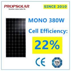 La haute efficacité monocristallin Panneau solaire 380W de l'installation
