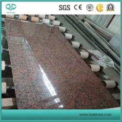 Commerce de gros de l'érable de granit rouge G562 pour la couverture/Flooring/pavage tuiles/dalles//Comptoirs/objet tombstone/Monument/granit