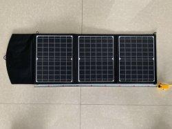 40W портативное зарядное устройство солнечных батарей для портативных и мобильных телефонов