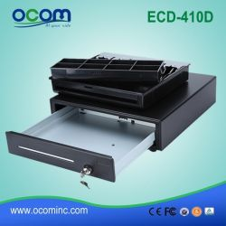 Ecd410d Supermercado Eletrônico Dinheiro Faturamento de coleta de metal da máquina Caixa Registradora Drawer