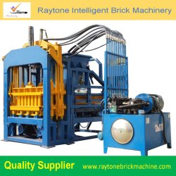 Qt4-15 기계장치를 만드는 유압 포장 기계 조형 구획 기계 구렁 포장 기계 벽돌