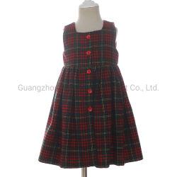 Vêtements bébé fille d'Occasion spéciale de Noël de Plaid collection de robes pour les enfants d'hiver