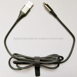 マイクロ及び8pデータケーブルの料金へのUSBはワイヤー電光ケーブルを接続する